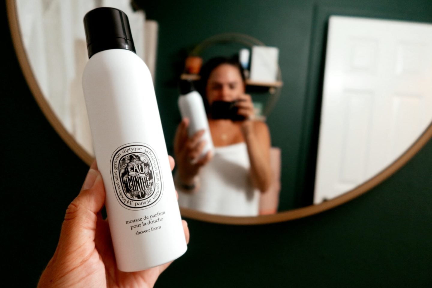 diptyque shower foam