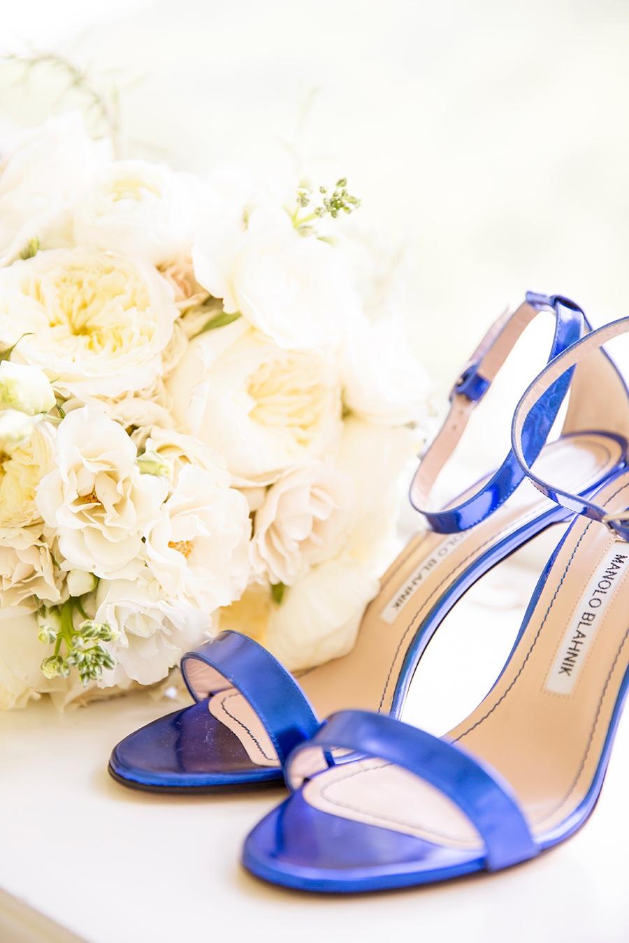 rebecca piersol blue wedding shoes
