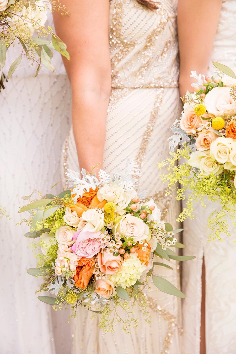 rebecca piersol traditional wedding pastel flowers