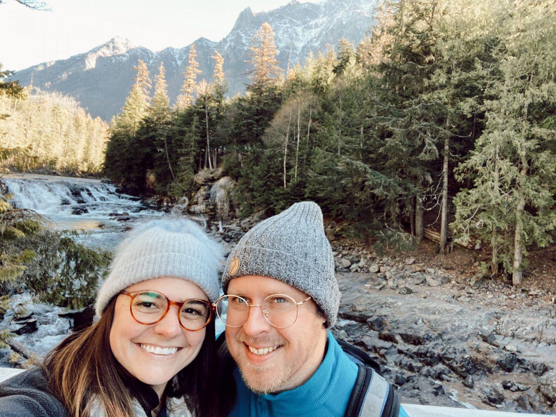 rebecca piersol glasses USA glacier national park