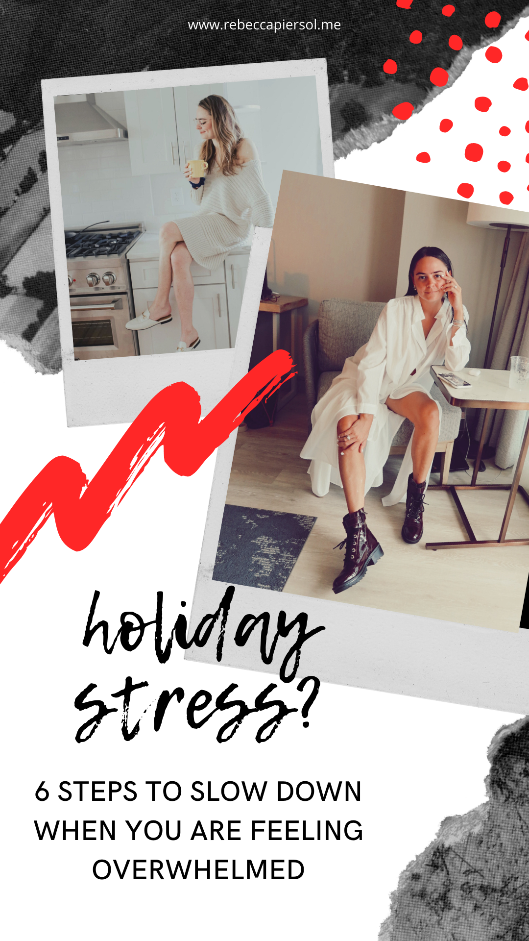 rebecca piersol holiday stress