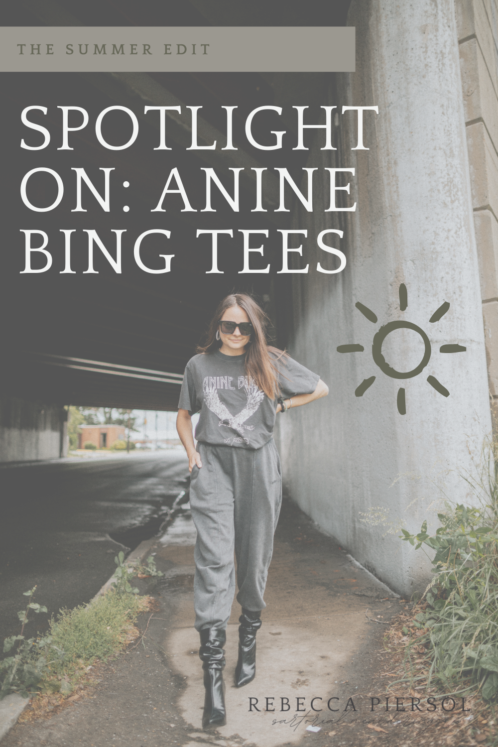how to style anine bing