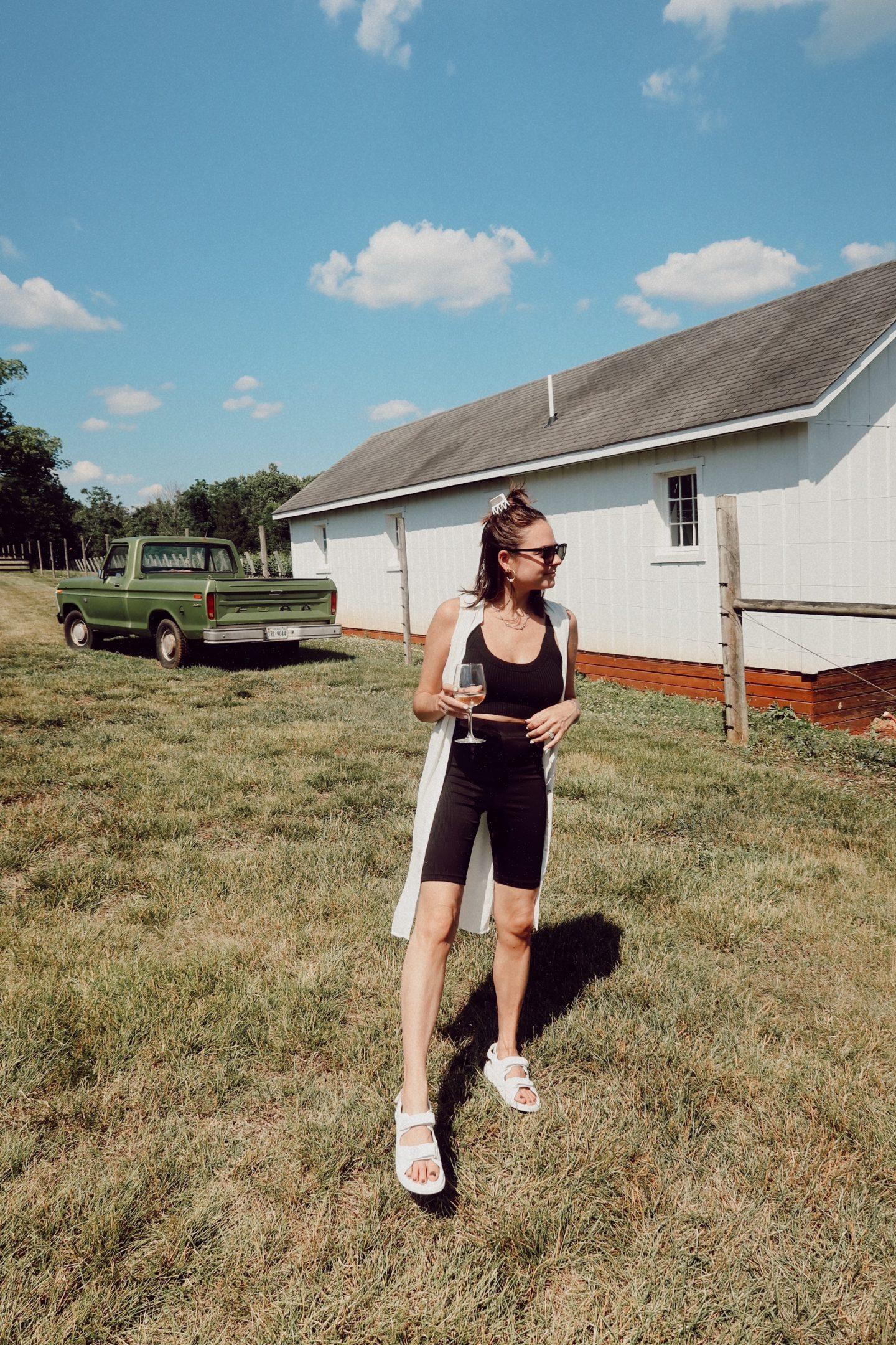rebecca piersol biker shorts